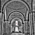 The Tombs At Fontevraud Abbey   France by Sheila Laurens