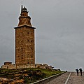 The Tower Of Hercules by Eric Tressler