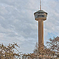 The Tower Of The Americas Hdr by Sarah Broadmeadow-Thomas