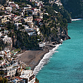 The Town Of Positano by Driendl Group