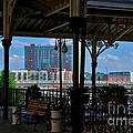 The Trainstation In Nashville by Susanne Van Hulst