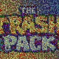 The Trash Pack Eyeball Mosaic by Paul Van Scott