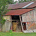 Leaning Barn by Debbie Portwood