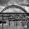 The Tyne Bridges by Trevor Kersley