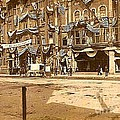The Vaudeville Theatre In Shamokin Pa Around 1910 by Dwight Goss