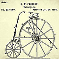 The Velocipede Patent 1880 by Bill Cannon