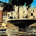 The Venetian Fountain In Las Vegas by Susanne Van Hulst