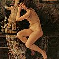 The Venetian Model by Elihu Vedder