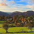 The Village Of Watermillock In Cumbria Uk by Louise Heusinkveld