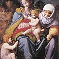 The Virgin And Child by Bachiacca