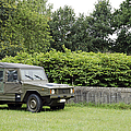 The Vw Iltis Jeep Used By The Belgian by Luc De Jaeger