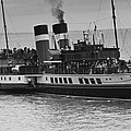 The Waverley Paddle Steamer Mono by Steve Purnell
