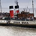 The Waverley Paddle Steamer by Steve Purnell