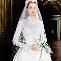 The Wedding In Monaco, Grace Kelly, 1956 by Everett