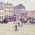 The Weigh House - Cumberland Market by Robert Polhill Bevan