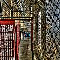 The West Virginia State Penitentiary Cell Hallway by Dan Friend