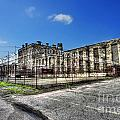 The West Virginia State Penitentiary Courtyard Outside by Dan Friend