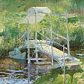 The White Bridge by John Henry Twachtman