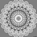 The White Mandala No. 2 by Joy McKenzie