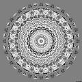 The White Mandala No. 5 by Joy McKenzie