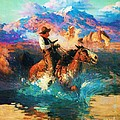 The Wild West by Pg Reproductions