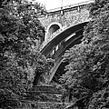 The Wissahickon Creek And Henry Avenue Bridge by Bill Cannon