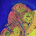 The Yukon Delta In Southwest Alaska by Stocktrek Images