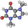 Theobromine Molecule by Laguna Design