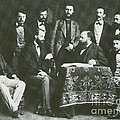 Theodor Billroth And Assistants by Science Source