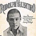 There's A New Star In Heaven Tonight Rudolph Valentino by Mel Thompson