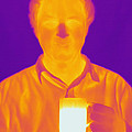 Thermogram Of A Man by Ted Kinsman