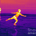 Thermogram Of A Skater by Ted Kinsman