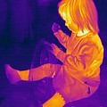 Thermogram Of A Young Girl by Ted Kinsman