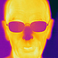 Thermogram Of An Elderly Man by Ted Kinsman