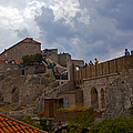 They Walk The Wall In Dubrovnik by Madeline Ellis
