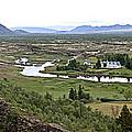 Thingvellir Valley by Greg Dimijian