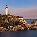 This Is British Columbia No.62 - Point Atkinson Lighthouse Point by Paul W Sharpe Aka Wizard of Wonders