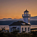 This Is Washington State No. 11 - Port Townsend Light House by Paul W Sharpe Aka Wizard of Wonders