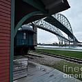 Thomas Edison Depot And Blue Water Bridges 2012 by Ronald Grogan