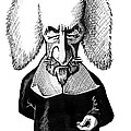 Thomas Hobbes, Caricature by Gary Brown