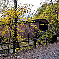 Thomas Mill Covered Bridge Over The Wissahickon by Bill Cannon
