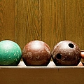 Three Bowling Balls by Benne Ochs