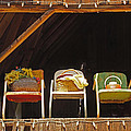 Three Chairs With A View by Mick Anderson