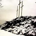 Three Crosses by Charleen Treasures