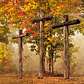 Three Crosses by Debra and Dave Vanderlaan