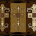 Three Crosses by Dede Shamel Davalos