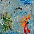 Three Flowers by Jamie Frier