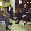 Three Former Presidents Gerald Ford by Everett