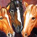 Three Friends by Meg Keeling