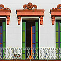 Three Of A Kind - The Windows In Old Sacramento by Christine Till